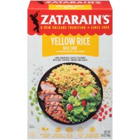 Zatarain's Yellow Rice Dinner Mix 6.9oz Box product image