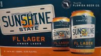 Florida Beer Company Sunshine State FL Lager 6CT 12oz Cans *ID Required* product image