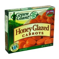Green Giant Carrots Honey Glazed 10oz PKG