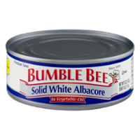 Bumble Bee Solid White Albacore Tuna in Oil 5oz Can