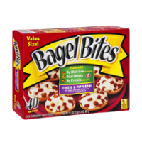 Bagel Bites Cheese and Pepperoni 40CT 31.1oz Box product image