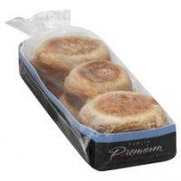 Store Brand Premium English Muffins Sourdough 6CT 12oz PKG