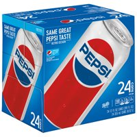 Pepsi Cola 24 Pack 12oz Cans