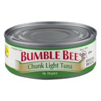 Bumble Bee Chunk Light Tuna in Water 5oz Can