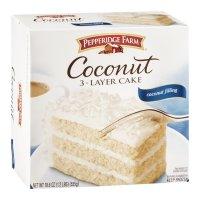 Pepperidge Farm 3 Layer Cake Coconut 19.6oz Box