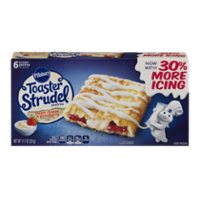 Pillsbury Toaster Strudel Strawberry Cream Cheese 6CT 11.5oz Box product image