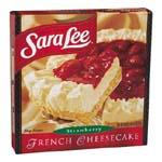 Sara Lee Cheesecake French Strawberry 26oz. PKG product image