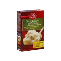 Betty Crocker Potatoes Mashed Sour Cream & Chives 7.2oz Box