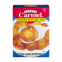 Carmel Kosher Potato Pancake Mix 6oz Box