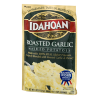Idahoan Mashed Potatoes Roasted Garlic 4oz