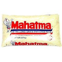 Mahatma Rice Enriched Extra Long Grain 5LB Bag