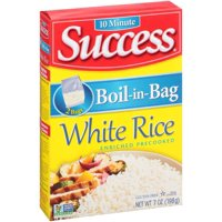 Success Boil-In-Bag Rice White Enriched Long Grain 3.5oz EA 2CT