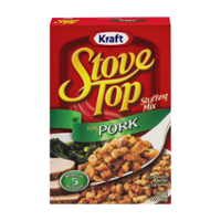 Stove Top Stuffing Mix Pork 6oz Box product image