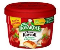 Chef Boyardee Microwave Cheese Ravioli 7.5oz Cup product image
