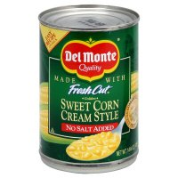 Del Monte Fresh Cut Sweet Corn Cream Style No Salt Added 14.7oz.
