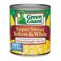 Green Giant Super Sweet Yellow & White Corn 11oz Can
