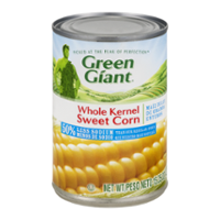 Green Giant Corn Whole Kernel 50% Less Sodium 15.2oz Can