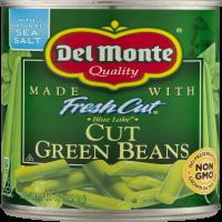 Del Monte Green Beans Cut 14.5oz Can