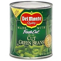 Del Monte Fresh Cut Green Beans Cut 28oz Can