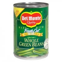 Del Monte Fresh Cut Whole Green Beans 14.5oz Can