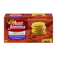 Aunt Jemima Pancakes Mini 40CT 14.5oz Box