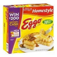 Eggo Waffles Homestyle 24CT 29.6oz. Box