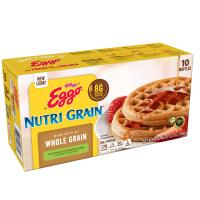 Eggo Waffles Nutri-Grain Whole Wheat 10CT 12.3oz Box