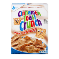 General Mills Cinnamon Toast Crunch Cereal 12.2oz Box product image