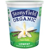 Stonyfield Farm Low Fat French Vanilla Yogurt 32oz Tub