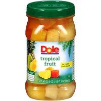 Dole Tropical Fruit in 100% Juice 24.5oz Jar product image