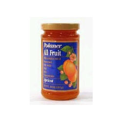 Polaner All Fruit Spreadable Apricot 10oz Jar