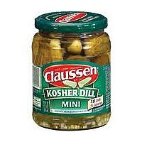 Claussen Pickles Dill Kosher Mini 20oz Jar