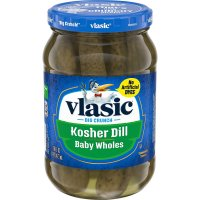 Vlasic Pickles Kosher Dill Baby Wholes 16oz Jar product image