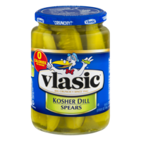 Vlasic Pickles Kosher Dill Spears 24oz Jar