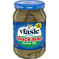 Vlasic Snack-MMs Pickles Kosher Dill 16oz Jar
