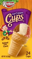 Keebler Ice Cream Cups 24CT 3oz Box