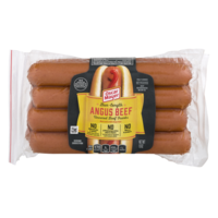 Oscar Mayer Classic Beef Franks Bun Length 8CT 15oz PKG