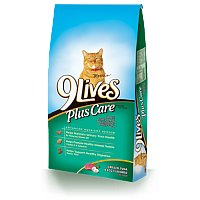 9 Lives Plus Care Tuna and Egg 3.15LB Bag