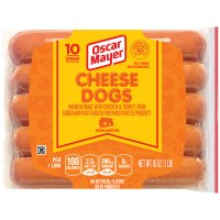 Oscar Mayer Classic Cheese Dogs 10CT 16oz PKG product image