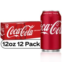 Coke Classic 12PK of 12oz Cans