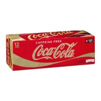 Coke Classic Caffeine Free 12 Pack of 12oz Cans