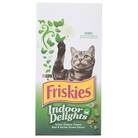 Friskies Indoor Delights Dry Cat Food 3.15LB Bag
