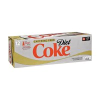Coke Diet Caffeine Free 12 Pack of 12oz Cans