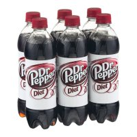 Dr Pepper Diet 6PK of 16.9oz Bottles