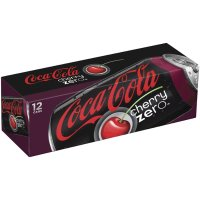 Coke Cherry Zero 12 Pack of 12oz Cans