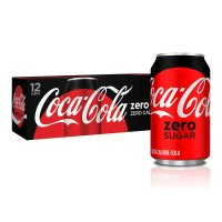 Coke Zero 12 Pack of 12oz Cans