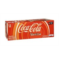 Coke Vanilla 12 Pack of 12oz Cans