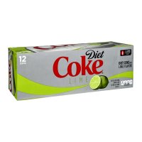 Coke Diet with Lime 12PK of 12oz Cans product image