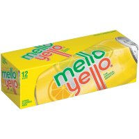 Mello Yello 12 Pack of 12oz Cans