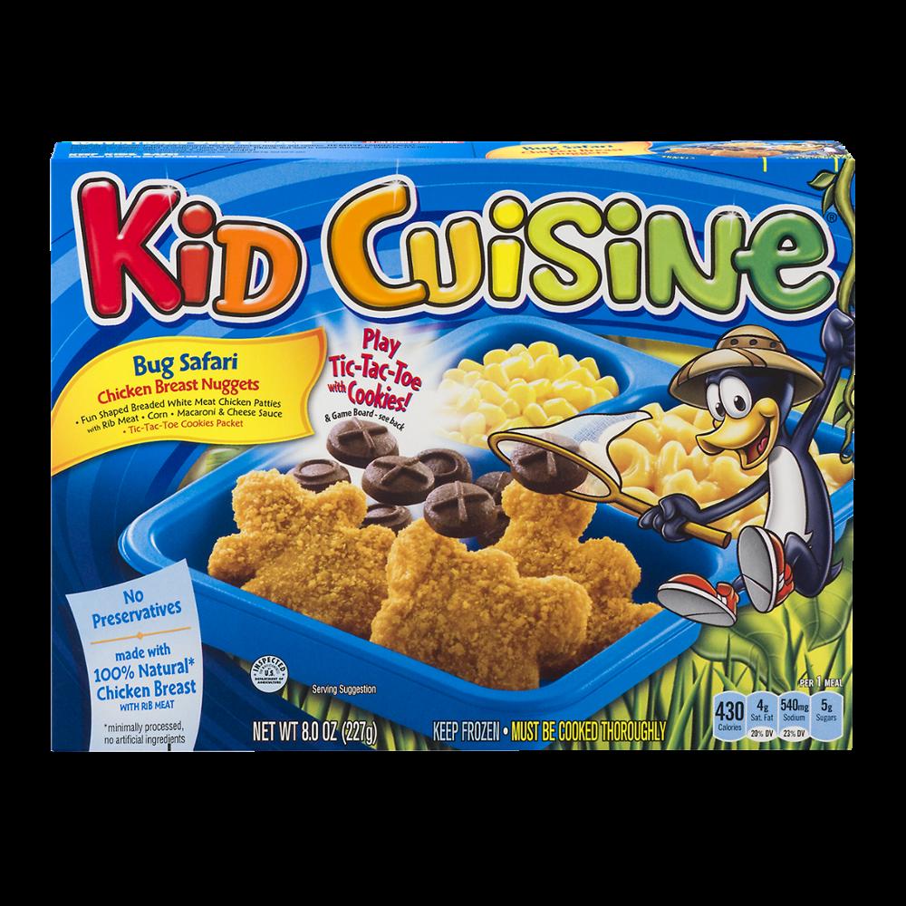 Kid Cuisine Bug Safari Chicken Breast Nuggets 8oz